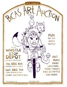 Art Auction Flier 2013