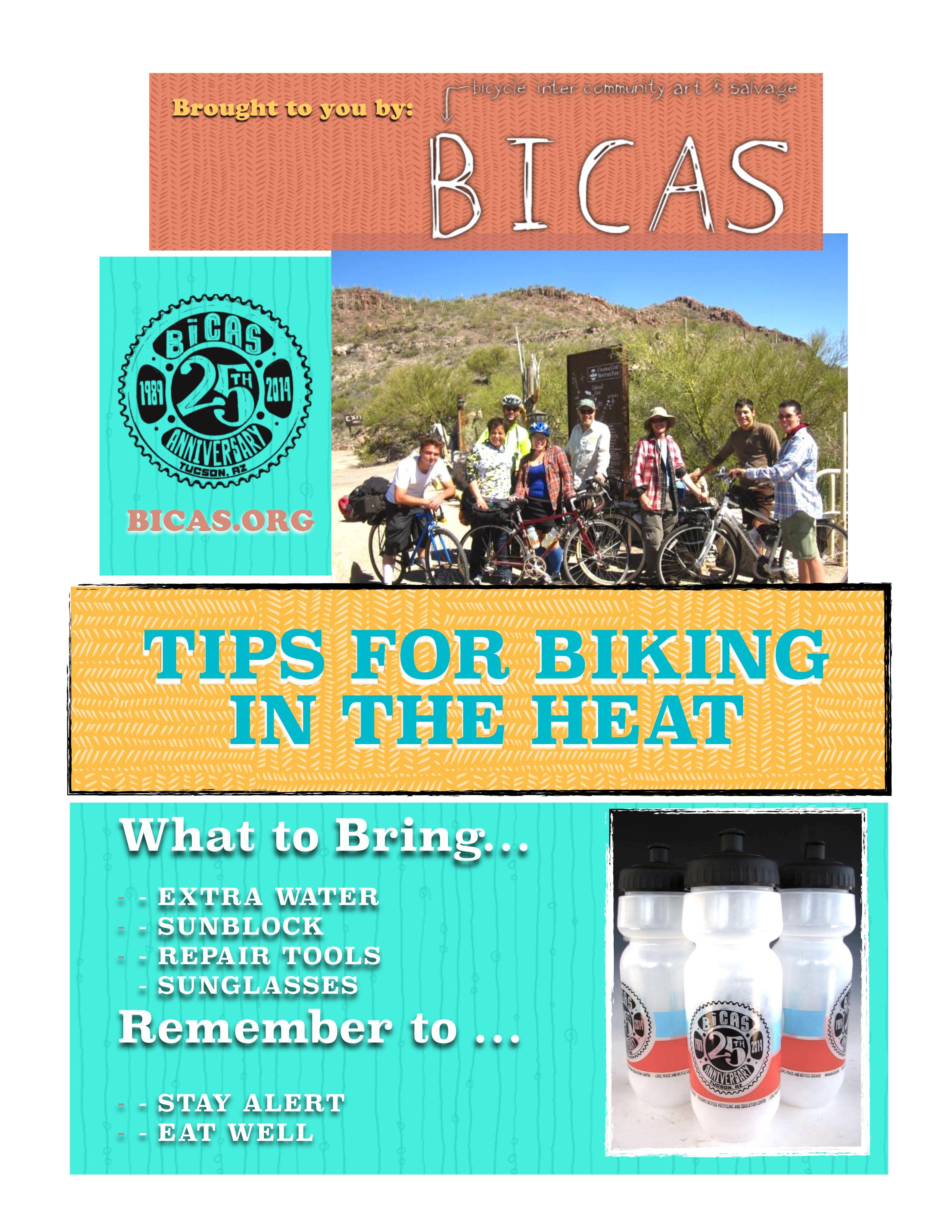 Tips for Biking in the Heat