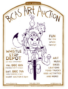 Art Auction Flier 2013